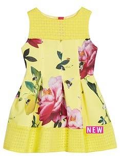 baker-by-ted-baker-girls-floral-print-scuba-dress
