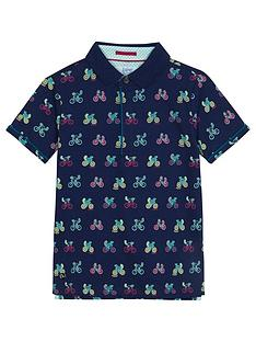 baker-by-ted-baker-boys039-navy-bike-print-polo-shirt