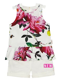 baker-by-ted-baker-girls-floral-print-top-and-short-set