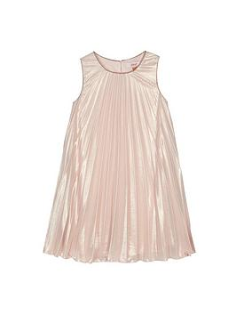 baker-by-ted-baker-girls-pink-pleated-dress