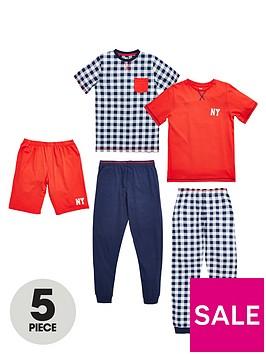 v-by-very-boys-wake-up-awesome-pyjamas-5-piece