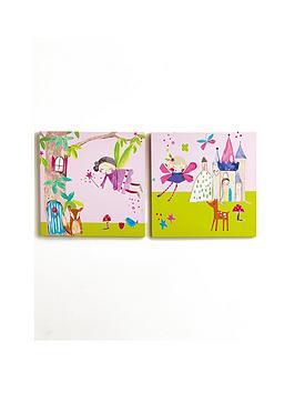 arthouse-woodland-fairies-canvas-prints--nbspset-of-2nbsp