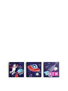 arthouse-starshipnbspcanvas-set-of-3