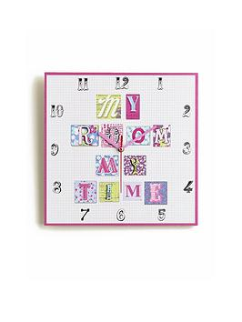 arthouse-patchwork-hearts-clock