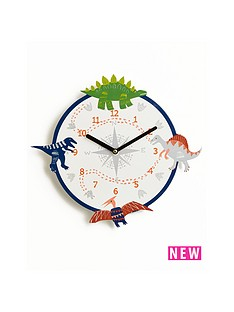 arthouse-dino-doodles-clock