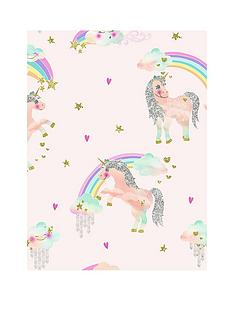 arthouse-rainbow-unicorn-wallpaper