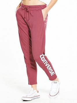 converse-wordmark-tapered-pants-dark-red