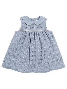 mamas-papas-lace-collar-dress