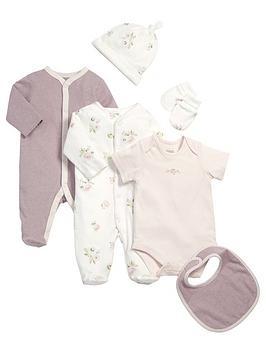 mamas-papas-baby-6-piece-floral-amp-stripe-set