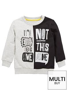 mini-v-by-very-boys-contrast-slogan-sweat