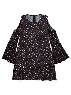 v-by-very-ditsy-floral-printed-dress