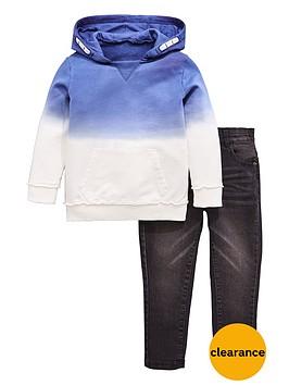 mini-v-by-very-boys-dip-dye-hoody-amp-jean-outfit