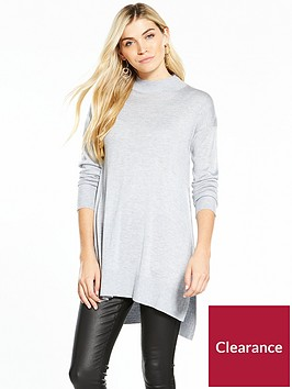 v-by-very-turtleneck-split-side-tunic
