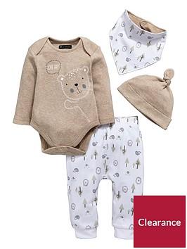 mini-v-by-very-baby-unisex-4pc-bear-hat-bib-bodysuit-amp-jogger-set