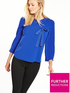 v-by-very-ruched-front-blouse