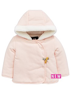 mini-v-by-very-baby-girls-fleece-trim-hooded-sweat-jacket