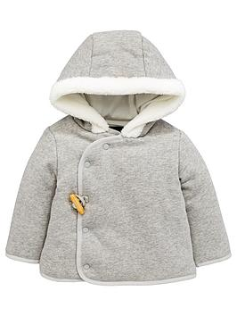 mini-v-by-very-baby-unisex-fleece-trim-hooded-sweat-jacket