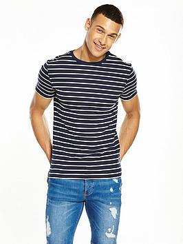 river-island-muscle-fit-stripe-tshirt