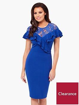 jessica-wright-kiona-short-sleeve-frill-dress