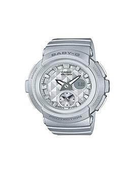 casio-casio-baby-g-studded-dial-silver-strap-watch