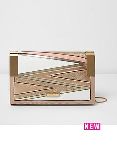 river-island-glitter-hinge-crossbody-bag