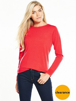 v-by-very-supersoft-crew-neck-jumper-red