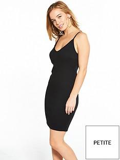 miss-selfridge-petite-rib-bodycon-dress