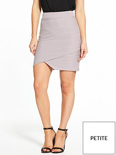 miss-selfridge-petite-bandage-mini-skirt