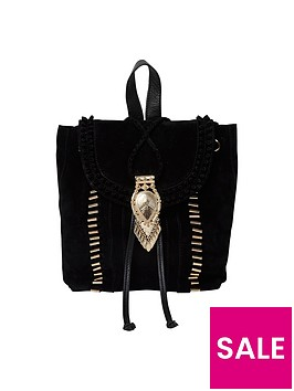 river-island-suede-festival-backpack