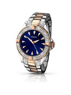 seksy-blue-dial-two-tone-bracelet-ladies-watch