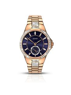 seksy-blue-detail-dial-rose-tone-stainless-steel-bracelet-watch