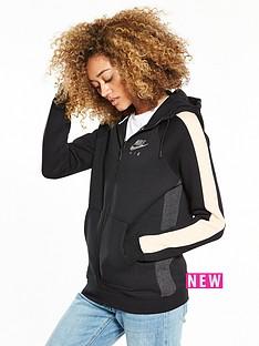 nike-sportswear-rally-air-full-zip-hoodie-blackpinknbsp