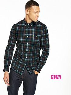 farah-ls-check-twill-shirt