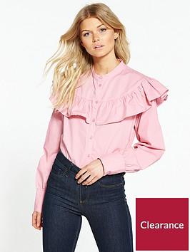 vero-moda-petite-candice-ls-midi-shirt
