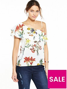 selected-femme-dixie-flounce-top