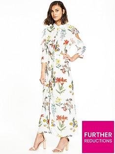 selected-femme-selected-femme-dixie-maxi-cold-shoulder-dress
