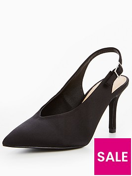 v-by-very-glam-satin-low-vamp-heeled-shoe-black