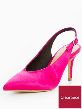 v-by-very-glam-satin-low-vamp-heeled-shoe-pink
