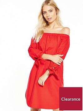 vero-moda-carine-off-shoulder-short-dress