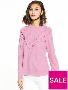 vero-moda-sweet-frill-long-sleeve-sweater-pink