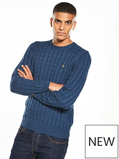 farah-norfolk-cable-knit-jumper