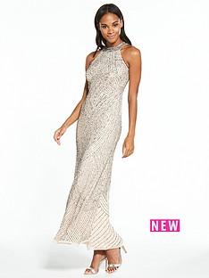 miss-selfridge-linear-bead-maxi-dress