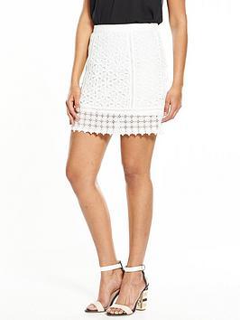 miss-selfridge-lace-skirt-creamnbsp