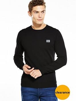 antony-morato-knitted-crew-jumper