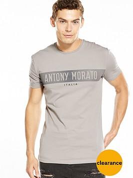antony-morato-rubber-logo-tshirt