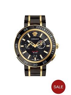versace-versace-extreme-pro-black-multi-dial-two-tone-bracelet-mens-watch