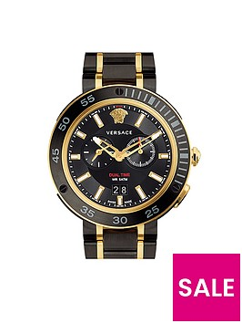 versace-versace-extreme-pro-black-multi-dial-two-tone-bracelet-mens-watch