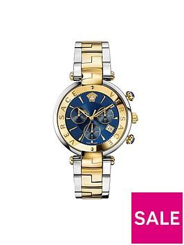 versace-revive-blue-dial-chornograph-two-tone-bracelet-mens-watch