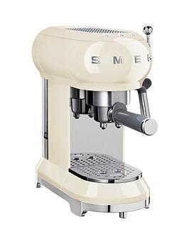 Smeg Ecf01 Espresso Coffee Machine – Cream