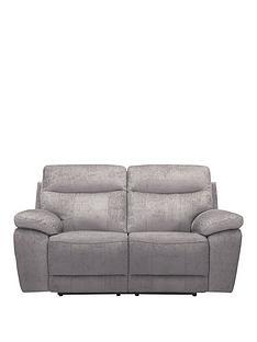 bling-2-seaternbspfabric-manual-recliner-sofa
